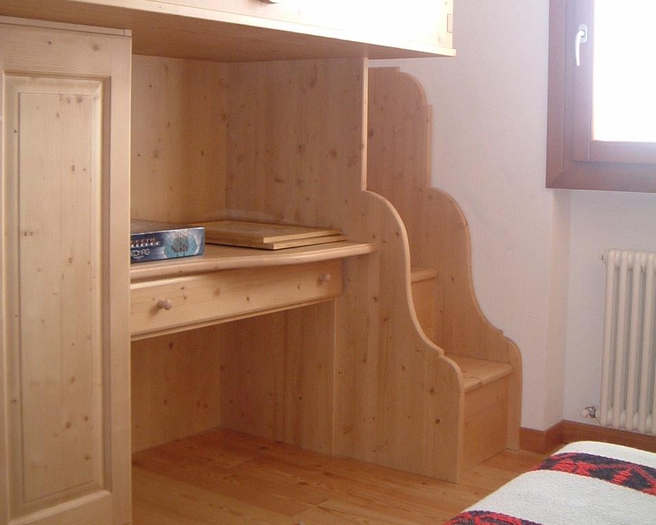 Camerette per ragazzi in legno - Camerette in legno massello per ragazzi ...