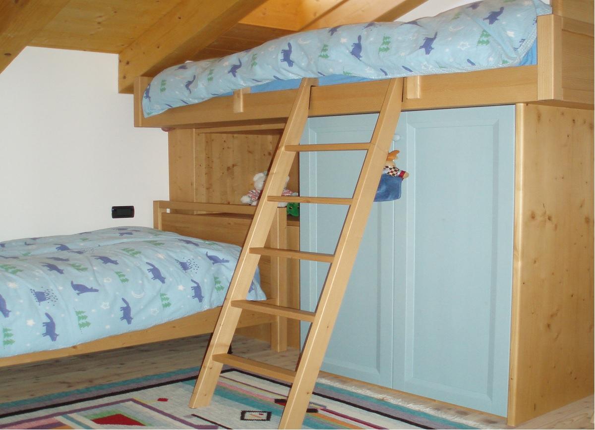 Camerette per ragazzi in legno