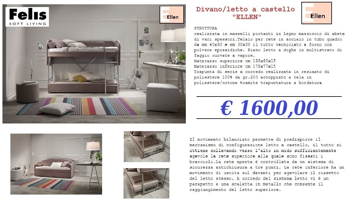 Divano letto castello offerte ambient arredo - Subito it divano letto ...